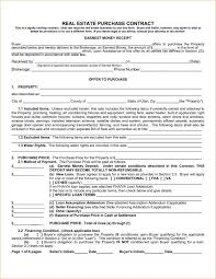 Purchase Agreement Samples Real Estate Purchase Contract Template In 2019 Pinterest