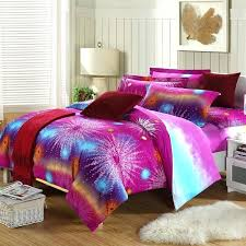 bright colorful comforters luxury neon teen bedding pink comforter set in diffe fabric image of hot