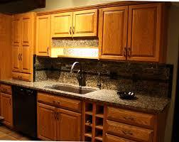 image of kitchen backsplash for black granite countertops