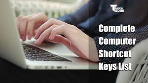 151+ Complete Computer Shortcut Keys List : You Must Know
