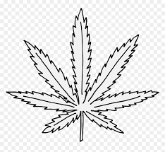 Leaf coloring pages and patterns are an extension of plants activities and crafts. Marijuana Leaf Coloring Page Hd Png Download Vhv