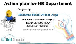 Lego Serious Play Action Plan For Hr Department Serious