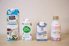 It's made of half coconut cream and half almond milk. Which Non Dairy Coffee Creamer Is Best In Food Marketing And Design