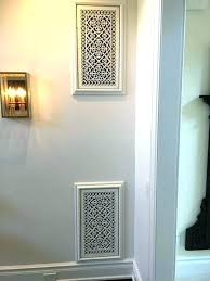 diy air vent cover return vent cover home ideas perspective decorative wall air return vent covers