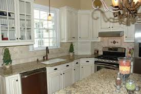 Painted White Kitchen Cabinets Photo Pic Painted White Kitchen Cabinets