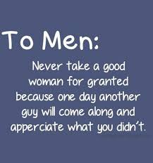Taking A Girl For Granted Quotes