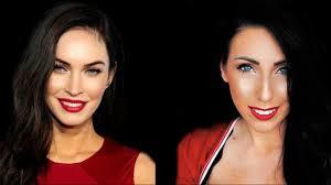 how to look like megan fox makeup tutorial