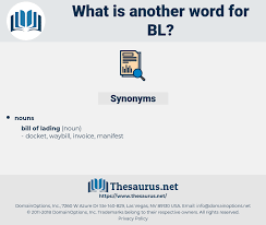 Synonyms For Bl Thesaurus Net