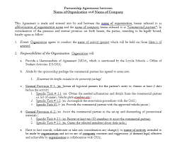 The most common partnership agreements. Strategic Partnership Agreement Templates 33 Free Templates