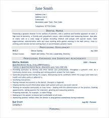 Nurse Resume Template Stunning Sample Nurse CV Template 40 Free Documents Download In Word PDF