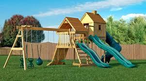 outdoor playset plans blueprints wooden train backyard diy