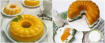 Bahan2 puding 300 gram labu kuning/ waluh 500 ml santan 250 ml air 100 gram gula pasir 1 saset susu kental manis putih 1 bks. T Ht9burhsjljm