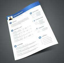 Resume Design Template Free Download – Mklaw
