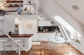 attic house interior design