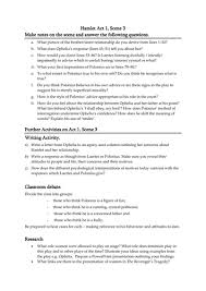 hamlet act scene questions and activities by alisonbcresswell hamlet act 1 scene 3 questions and activities by alisonbcresswell teaching resources tes