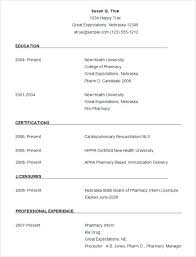 How To Format A Resume In Word Fascinating Ms Word Resume Format Resume Examples Word Word Resume Template Free