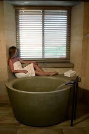 large soaking tub. Beautiful Large View Full SizeCourtesy Of ChownSonoma Cast Stone Soaking Tub Is Made  NuCrete Intended Large Soaking Tub S