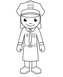 Fancy Police Officer Coloring Pages 91 In Picture Coloring Page