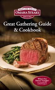 Omaha Steaks Great Gathering Guide Cookbook On Apple Books
