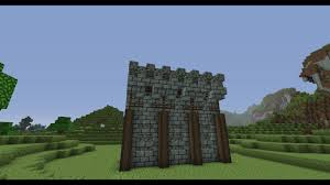 Minecraft wall designs Rustic Minecraft Medieval Wall Design Youtube Minecraft Medieval Wall Design Youtube
