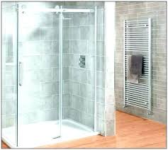 shower enclosures steam door parts installation kohler power clean sterling angle with at kit replacement glass