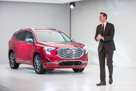 2018 gmc for sale. simple for gmc vice president global sales and marketing duncan aldred introduces the  2018 terrain denali to gmc for sale