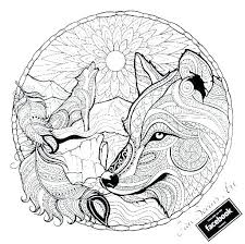 Wolf Coloring Pages 9 5584