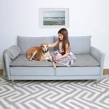 grey wool pet couch protector pet