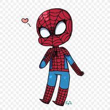spider man cartoon drawing fan art png