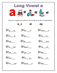 I can't believe we are gearing up to tackle long vowels! Long Vowel A Worksheet