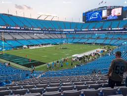 Carolina Panthers Seating Chart With Rows Bank Of America Stadium Section 323 Seat Views Seatgeek