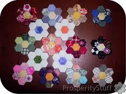 Paper Piecing Flower Prosperitystuff Quilts English Paper Piecing