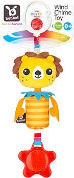 <b>Подвесная игрушка Benbat Wind-Chimes</b>, лев TT 121 купить в ...