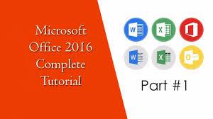 What Is Microsoft Office 2016 Beginners Tutorial In Urdu