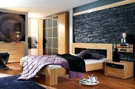 interior stone wall bedroom modern bedroom interior designs with