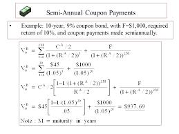 Semi Annual Coupon Bond Formula Walmart Mobile Coupons Iphone