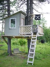 Tree House For Kids With Pipe Slide  Doctor Architecture  Doctor Diy Treehouses For Kids