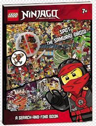 Lego Ninjago: Spot the Samurai-Droid (a Search-And-Find Book) Amazon.com  LEGO Ninjago: Character Encyclopedia, Lego Minifigures ninjago, comics, comic  Book png