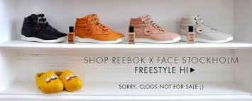 reebok x face. shopping_banner reebok x face