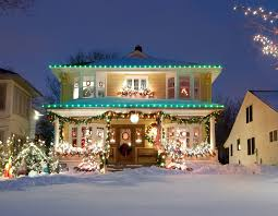 How To Fasten Christmas Lights To House How To Hang Outdoor Christmas Lights Safely Jerrys Do It