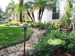 tropical outdoor lighting. dazzling landscaping coral springs trend miami tropical landscape decorating ideas with bromeliad clean colorful spring low outdoor lighting