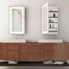 bathroom lighting modern. Bathroom Lighted Medicine Cabinets Lighting Modern A
