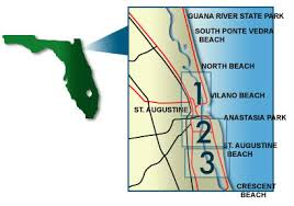 Beaches In St Augustine Florida Oldcity Com