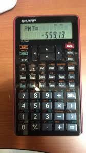 Financial Calculator Eddies Math And Calculator Blog Review Sharp El 738f