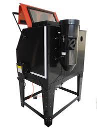 Abrasive Blasting Cabinet New Redline Re70 Abrasive Sand Blasting Blaster Blast Cabinet