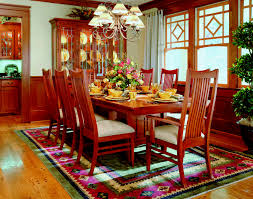 arts and crafts inspired dining room using bob timberlake furniture from the arts crafts collection