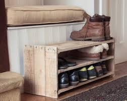 etsy pallet furniture. Wooden Shoe Rack - Handmade Pallet Furniture Etsy