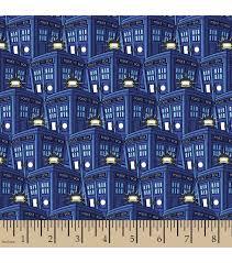 Doctor Who Packed Tardis Poly Spandex Fabric | fabric i like ... & Doctor Who Packed Tardis Poly Spandex Fabric Adamdwight.com