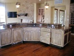 Painting Oak Kitchen Cabinets White Fascinating Whitewashing Kitchen Cabinets Black White Washed Treatment Wash Diy