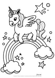 Dessin De Licorne A Imprimer Coloriage Licorne Dessin Imprimer Gratuit Coloriage Kawaii Gratuitll L